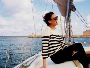Sailing through the Mediterranean Sea breeze