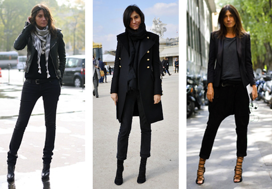 French Vogue editor-in-chief Emanuelle Alt