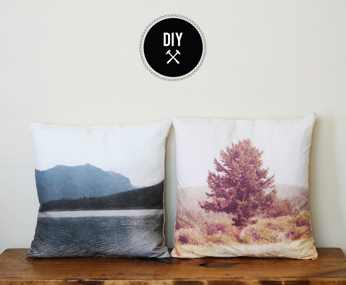 Landscape Pillows by Poppytalk.com