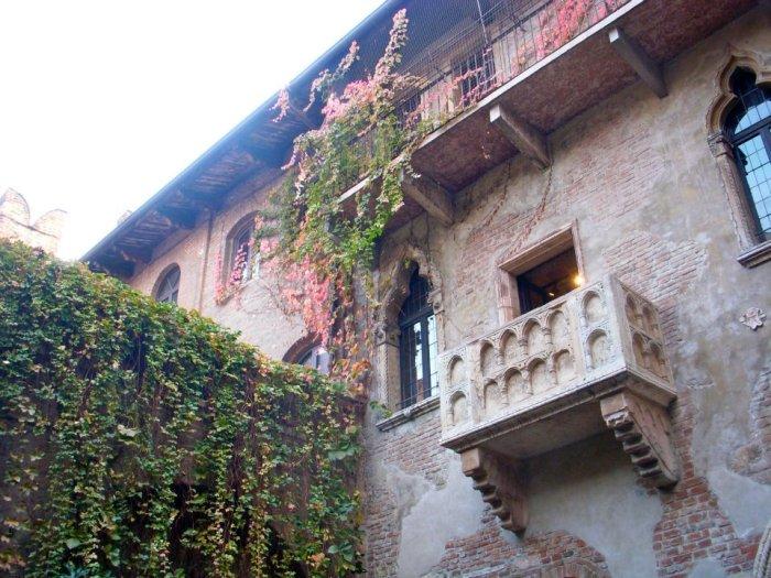 Casa di Giulietta balcony