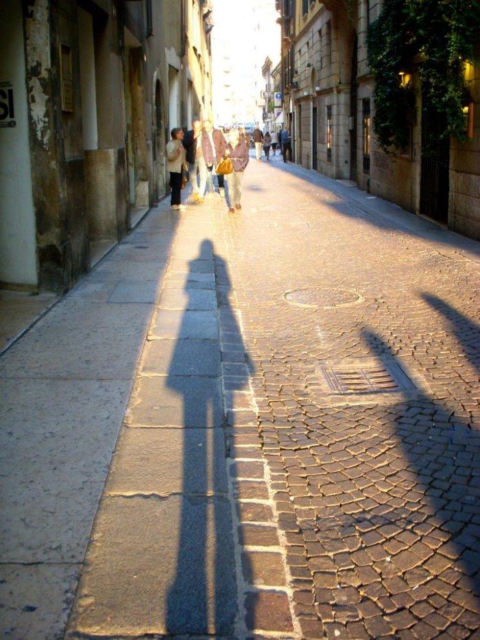 Cobblestone streets of Verona
