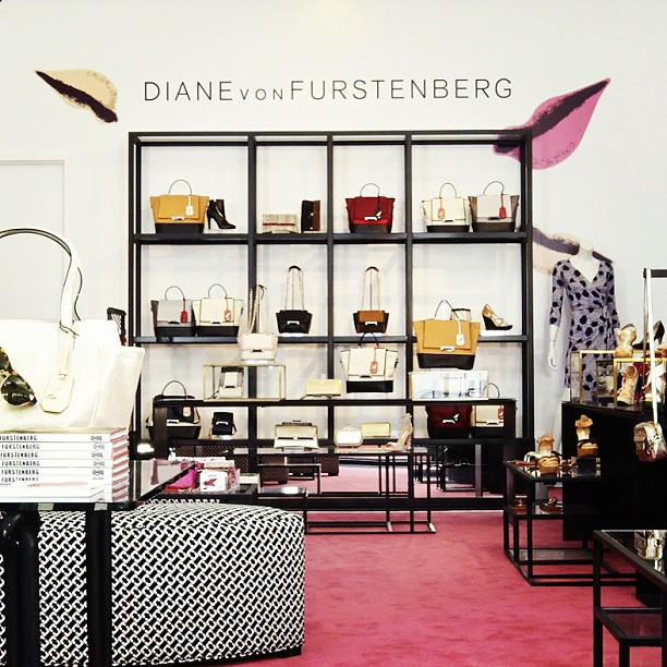 DVF Accessories Shop NYC via dvf on Instagrm