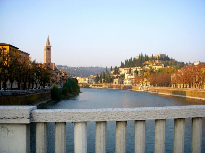 More Verona views over Adige River