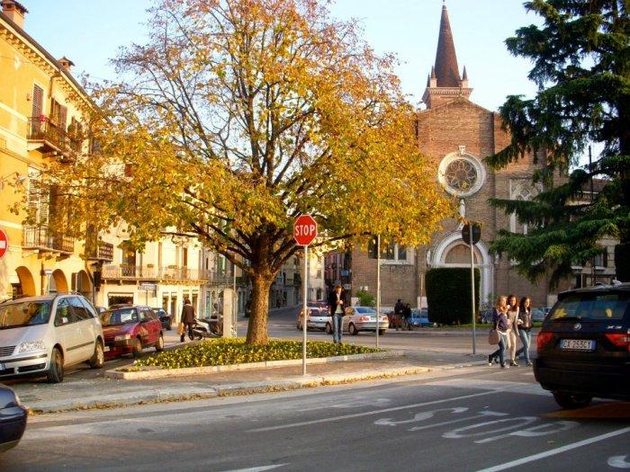 Quaint little church in Verona