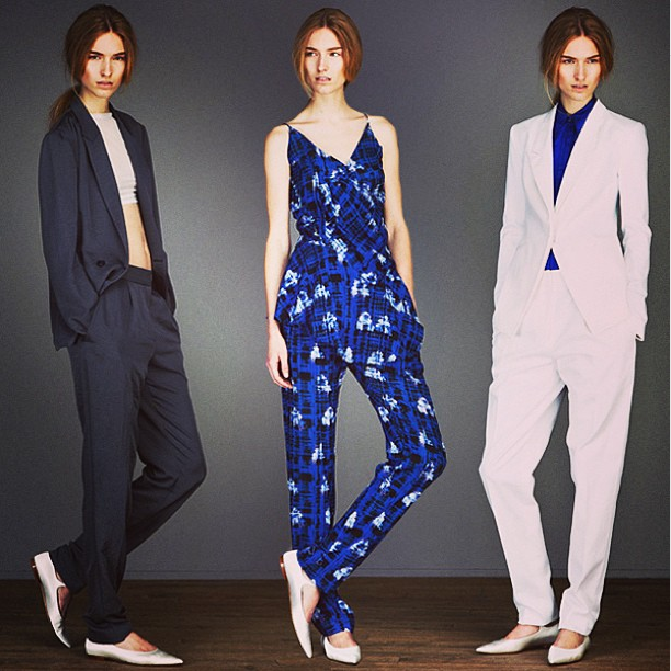 Richard Chai Love Resort 2014 via mbfashionweek on Instagram
