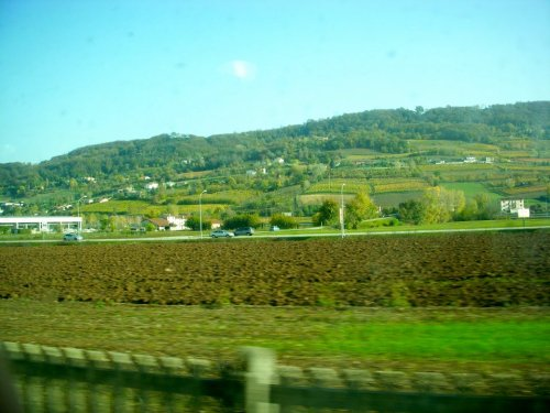 Train from Venice to Verona