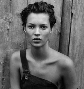 Kate Moss shot by Peter Lindbergh for Haper's Bazaar, 1994