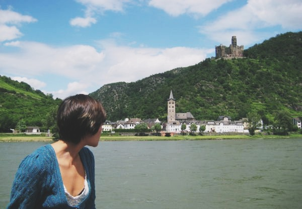 River Rhine cruise in Germany