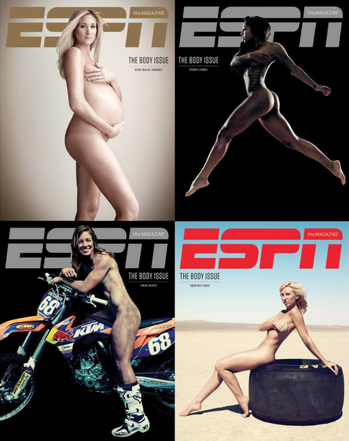 Women of The Body Issue 2013, ESPN Magazine