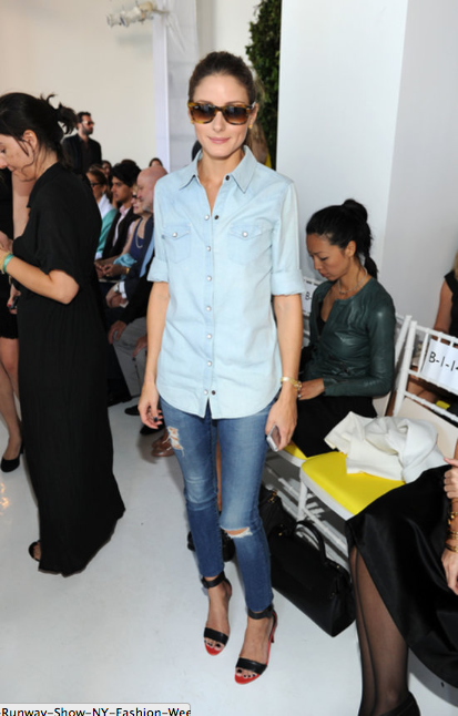 Olivia Palermo at Delpozo via PopSugar
