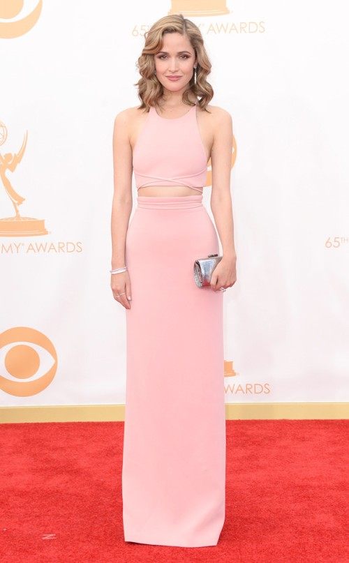 Rose Byrne in Calvin Klein Collection at the 2013 Emmys