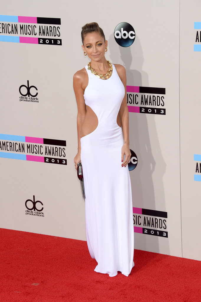 Sexy-sophisticate-Nicole-Richie-glowed-body-hugging-Emilio-Pucci-gown