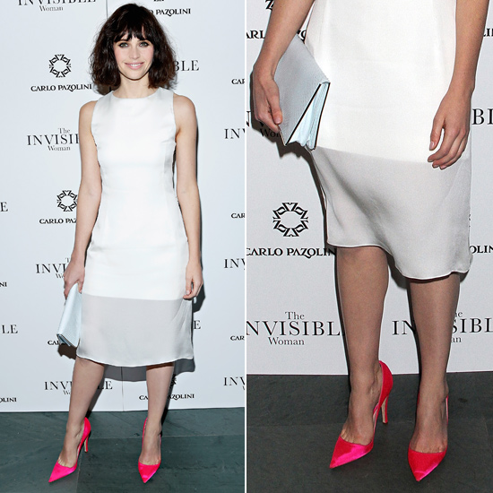 Felicity Jones Christian Dior Shoes