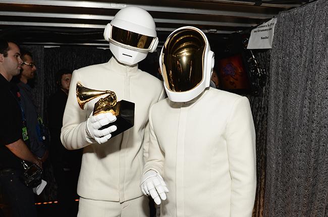 Daft Punk 2014 Grammys Winners