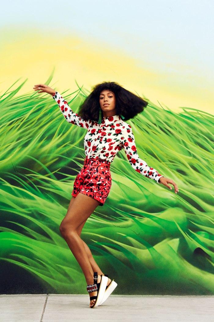 Solange for Harper's Bazaar