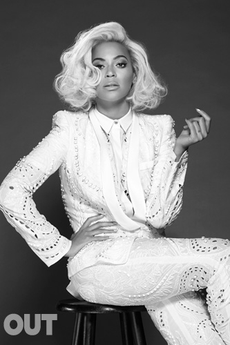 Beyonce for Out Magazine