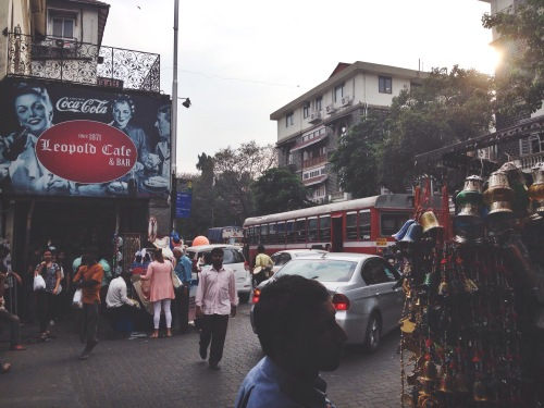 Colaba shopping near Leopold's