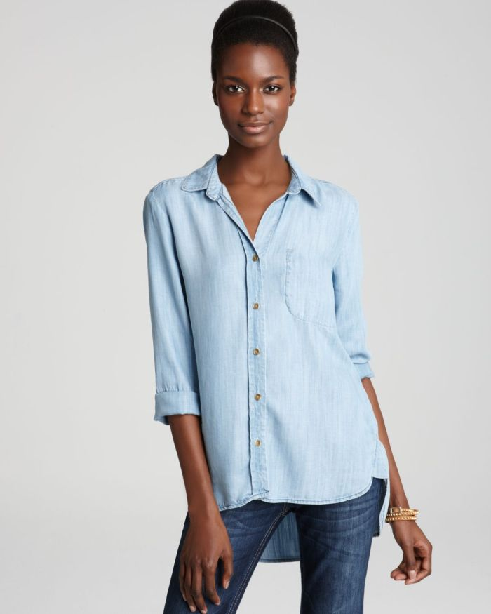bella dahl chambray - via where to get