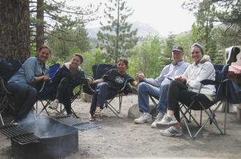 June Lake camping trip