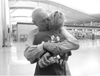 Daddy and Tashie-hug